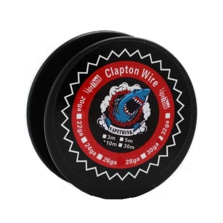 VapeThink Clapton Wire 24ga-30ga xsmokers