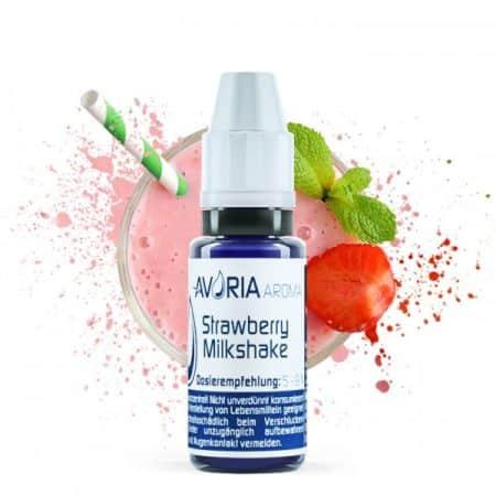 Avoria Strawberry Milkshake Greece Xsmokers