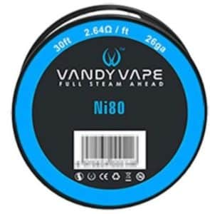 Vandy Vape Ni80 Wire 26Ga xsmokers