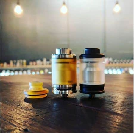 Tanko 24mm RTA Odis Collection Black Limited Ed. xsmokers