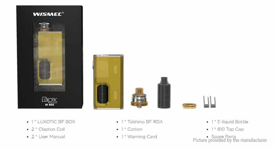 Luxotic and Tobhino kit Greece Xsmokers