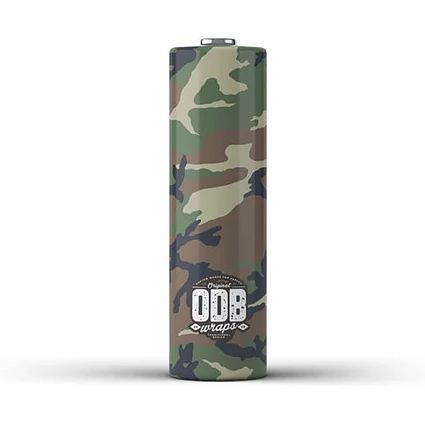 Wraps 18650 ODB Forest-Camo Greece Xsmokers