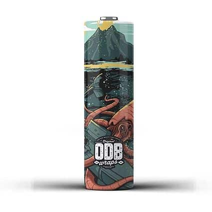 Wraps 18650 ODB Kraken Greece Xsmokers