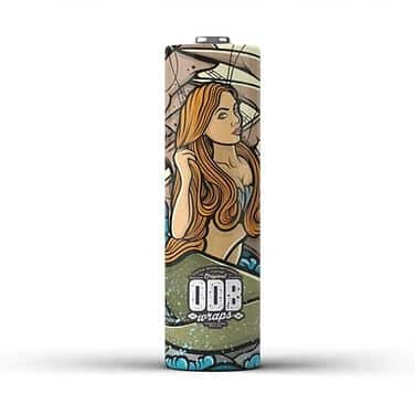 Wraps 18650 ODB Mermaid Greece Xsmokers