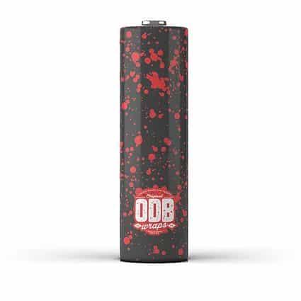 Wraps 18650 ODB BLOOD Greece Xsmokers
