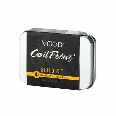 coilfeenz fused clapton coils vgod VGOD - 4 Pz Coil Nichrome Xsmokers