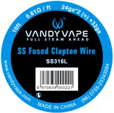 Vandy Vape SS Fused Clapton 28Ga Greece Xsmokers