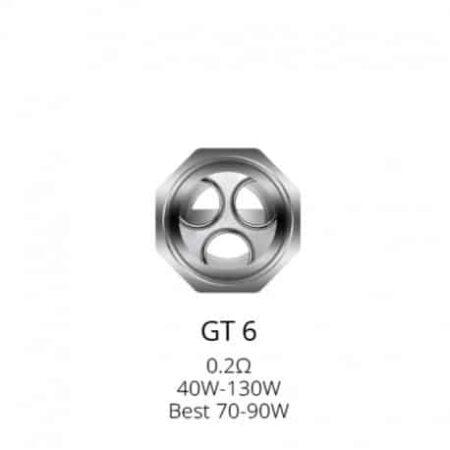 resistances gt6 pour nrg tank par 3 vaporesso Vaporesso GT6 Core For NRG Tank Xsmokers