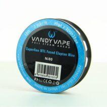 vandy vape superfine mtl ni80 wire xsmokers greece