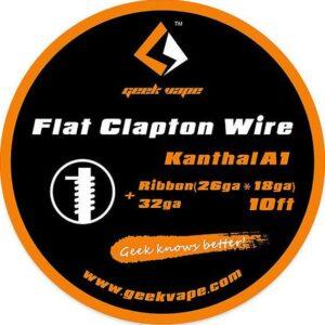 Geek Vape Kanthal A1 Flat Clapton Wire 3m